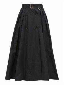 Max Mara - Cinese Skirt - Womens - Navy