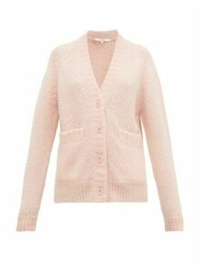 Tibi - Cozette Alpaca-blend Cardigan - Womens - Light Pink