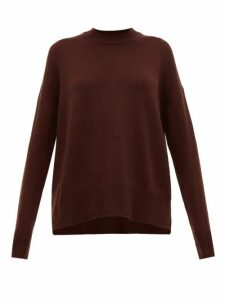 Jil Sander - Dropped-sleeve Cashmere Sweater - Womens - Brown