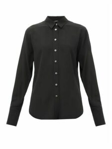 Joseph - Joe Crepe De Chine Silk Shirt - Womens - Black