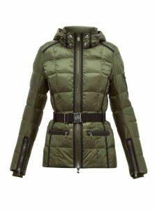 Bogner - Gloria-d Belted Down-filled Ski Jacket - Womens - Khaki