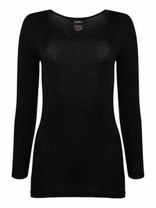 Long-Sleeve Roundneck Top
