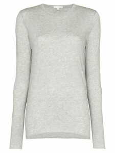 Skin long-sleeve fitted top - Grey