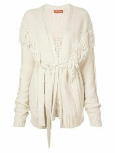 Altuzarra Trailblaze belted cardigan - White