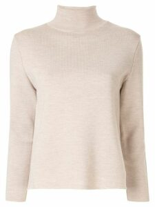 AKIRA NAKA button embellished jumper - Brown