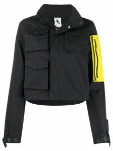 Off-White x Nike detachable pocket hooded jacket - Black