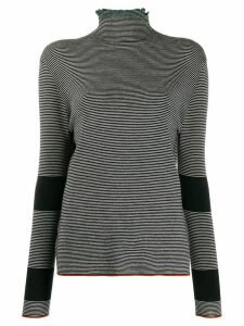 Marni striped knitted top - Black