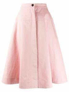 Marni high-waist a-line skirt - PINK