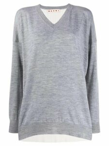 Marni jersey knitted top - Grey