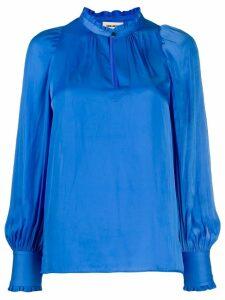 Zadig & Voltaire Titu satin blouse - Blue