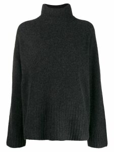 6397 long sleeve roll neck sweater - Grey