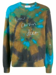 Collina Strada tie-dye print sweatshirt - Brown