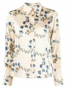 Chloé floral-print shirt - NEUTRALS
