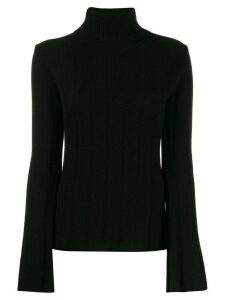 Each X Other roll neck jumper - Black