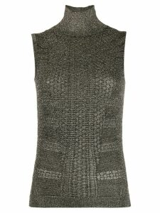 Chloé knitted metallic top - Black