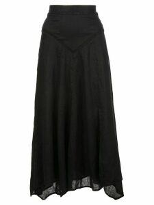 Isabel Marant Étoile A-line long skirt - Black