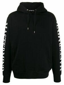 Mastermind Japan mastermind print hoodie - Black