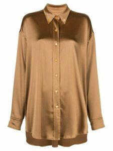 Sies Marjan Kiki oversized shirt - GOLD