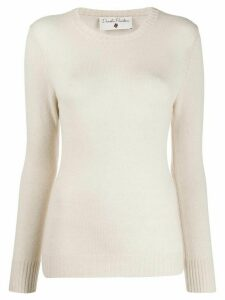 Danielapi cashmere slim-fit jumper - NEUTRALS
