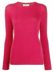 Danielapi long sleeve ribbed top - PINK