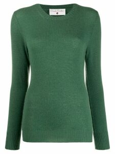 Danielapi long sleeved ribbed knit top - Green