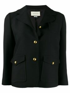 Gucci double G hardware jacket - Black