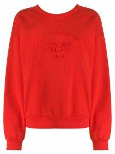Victoria Victoria Beckham heritage embroidered sweatshirt