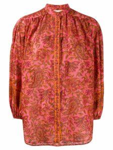 Zimmermann Edie paisley print blouse - PINK