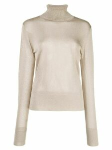 Altuzarra turtleneck shiny jumper - Grey