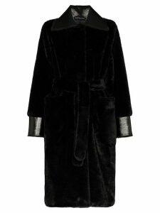Stand Studio Pamella faux fur coat - Black