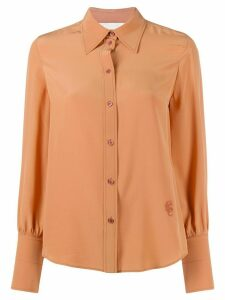 Chloé pointed collar shirt - NEUTRALS
