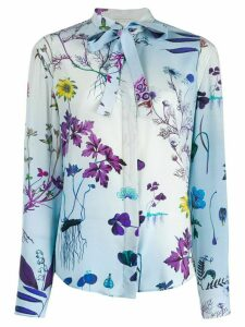 Stella McCartney Willow floral shirt - Blue