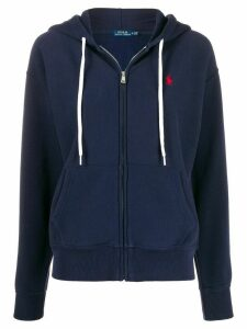 Polo Ralph Lauren zipped hoodie - Blue