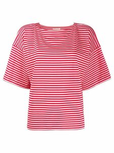 Marni striped T-shirt - Red