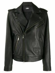 Karl Lagerfeld Karl Legen biker jacket - Black