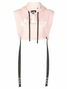 Haculla Nouveau cropped hoodie - Pink