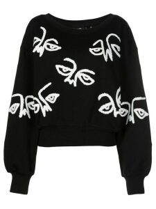 Haculla graphic-print sweatshirt - Black