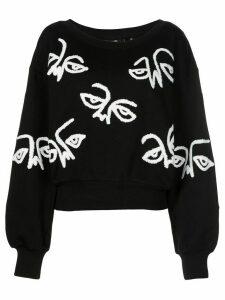Haculla graphic-print sweatshirt - Black