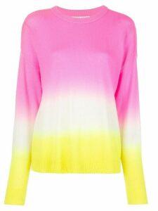 Alice+Olivia Gleeson dip-dye pullover - PINK