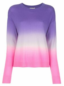 Alice+Olivia Gleeson dip-dye jumper - PURPLE