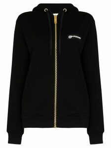 Burberry Aubree Vintage check stripe hoodie - Black