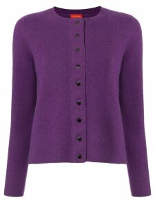 Des Prés button-up cardigan - PURPLE