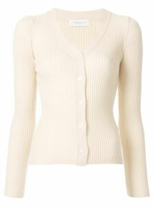 Tomorrowland ribbed knit cardigan - NEUTRALS