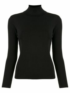 Tomorrowland roll neck jumper - Black