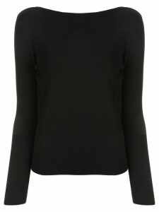 Tomorrowland v-neck jumper - Black