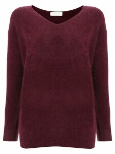 Tomorrowland v-neck jumper - Red