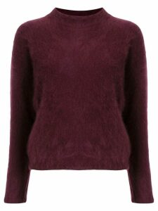 Tomorrowland mock neck jumper - Red
