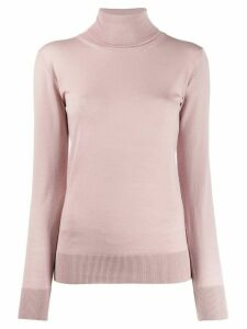 Semicouture Cipolla roll-neck jumper - PINK