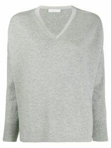 Fabiana Filippi V-neck jumper - Grey