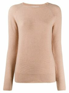 Fabiana Filippi round neck jumper - NEUTRALS